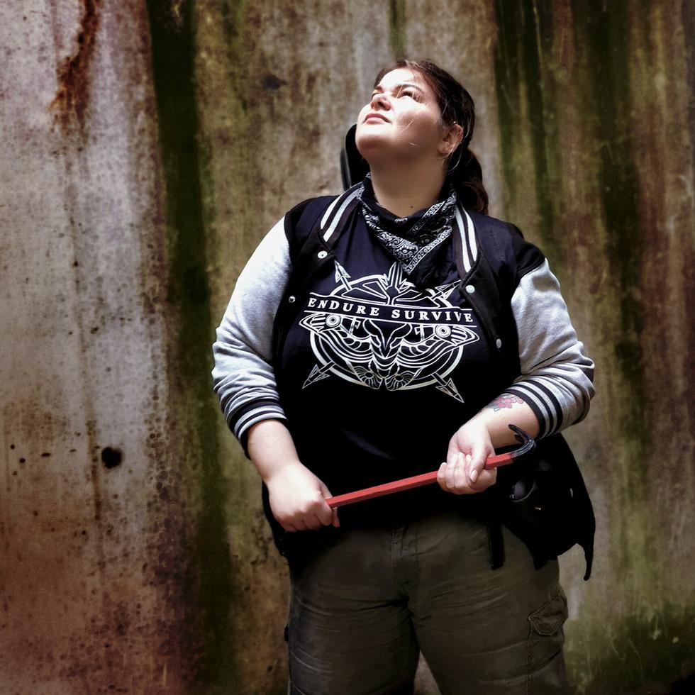 The Last of Us Inspired T-Shirt Design Modelled