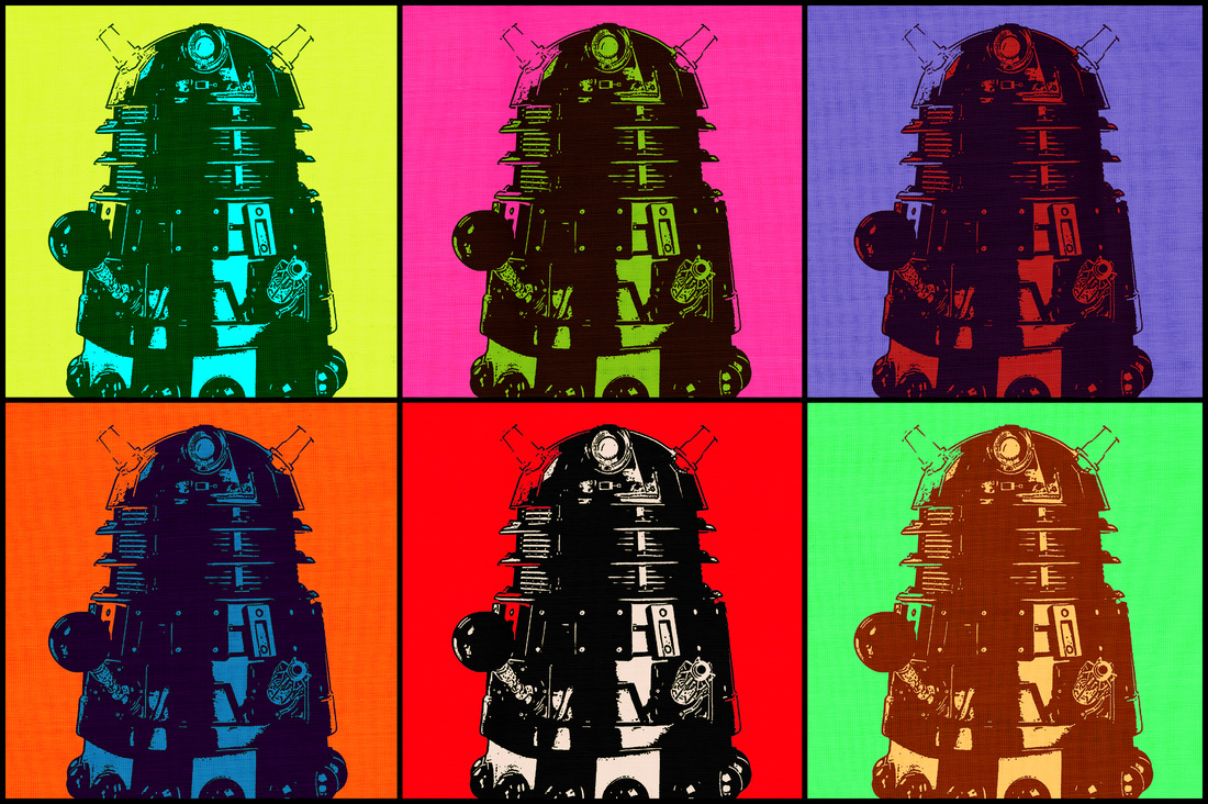 Pop Art Dalek