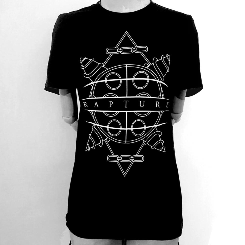 Bioshock Inspired Geometric T-Shirt