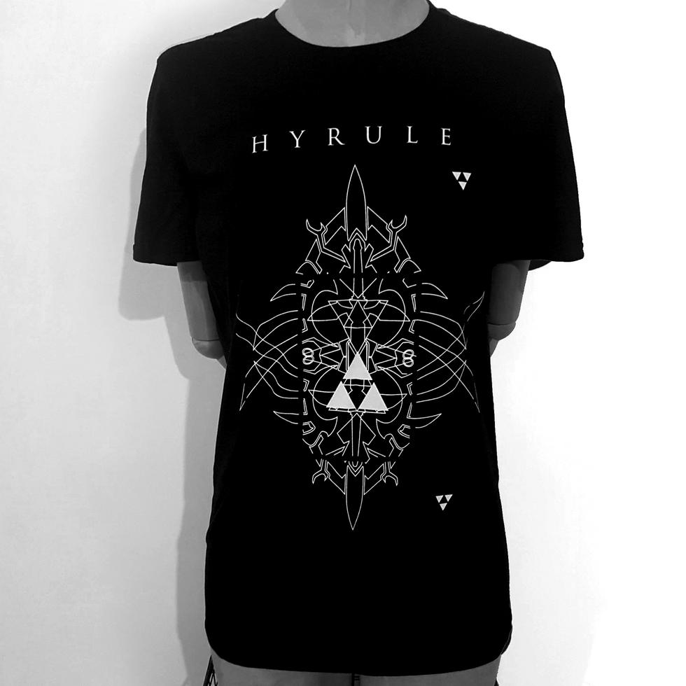 Legend of Zelda Inspired Geometric T-Shirt