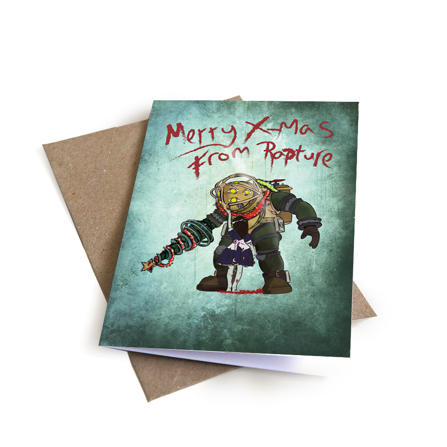Bioshock Christmas Card
