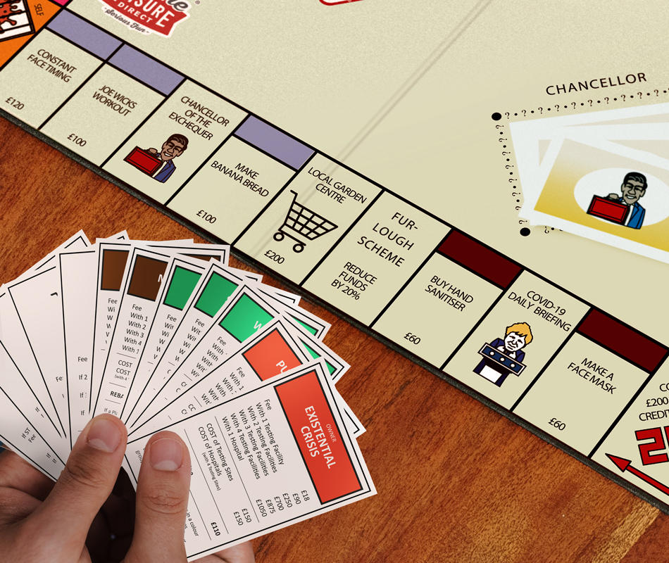 Product Design and Marketing: Covidopoly - The Charity Board Game