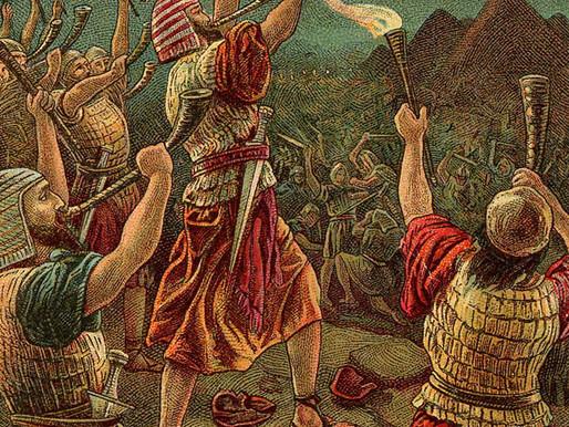 Een vak halen zoals Gideon de oorlog won