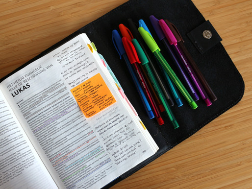Schrijven in je Bijbel?! - hoe ik verschillende pennen gebruik en waarom