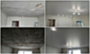 Натяжной потолок в студию Новосибирск МЖК