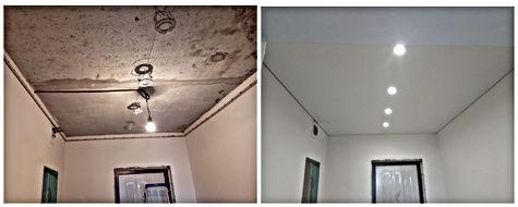 Натяжные потолки в коридор Новосибирск Бронная Дискус