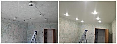 Натяжные потолки Новосибирск готовые решения