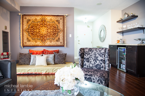 Urban Condo with Ethnic Highlights