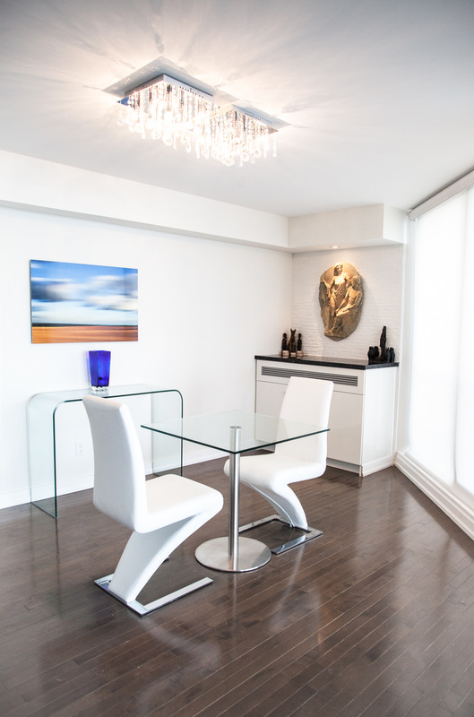 Condo Dining Room Interior Design