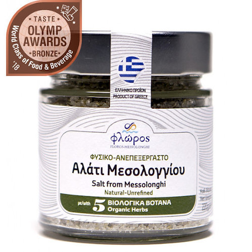 Messolonghi salt with 5 herbs