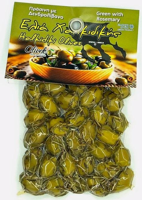 Halkidiki Green Olives-RM (250g)