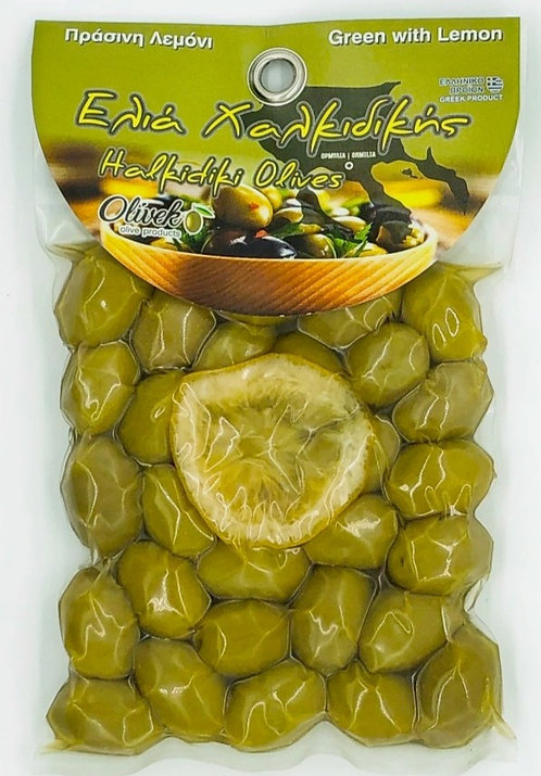 Halkidiki Green Olives-L (250g)