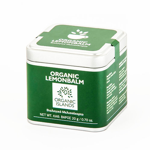 Organic Lemonbalm (tin box)