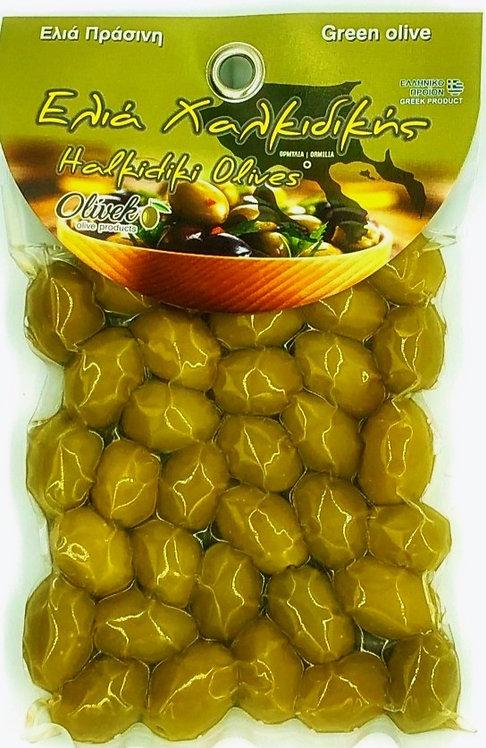 Halkidiki Green Olives (250g)
