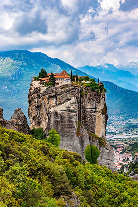 The Meteora  is a rock formation in  Gre