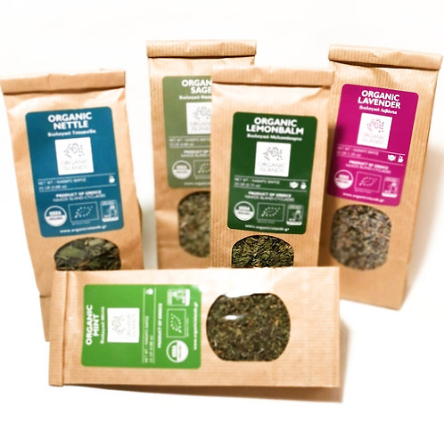 4 herbs packs +1 FREE