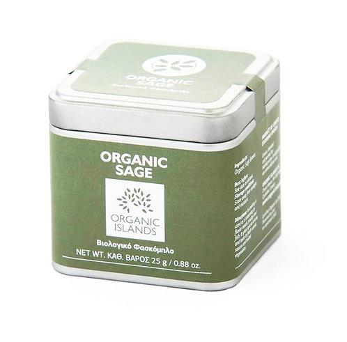 Organic sage (tin box)