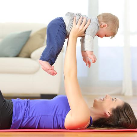 Postpartum Yoga for New Moms