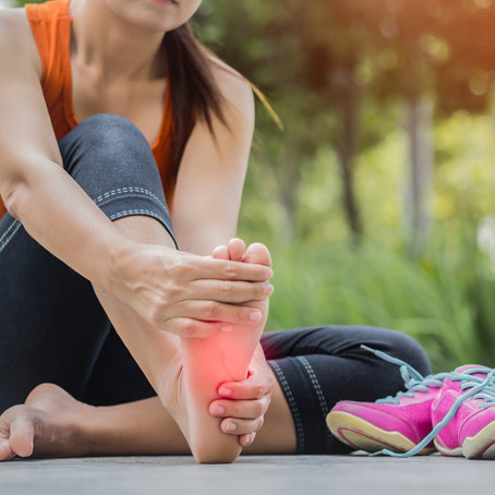 Relief from Plantar Fasciitis with Dr. Eric Dickerson