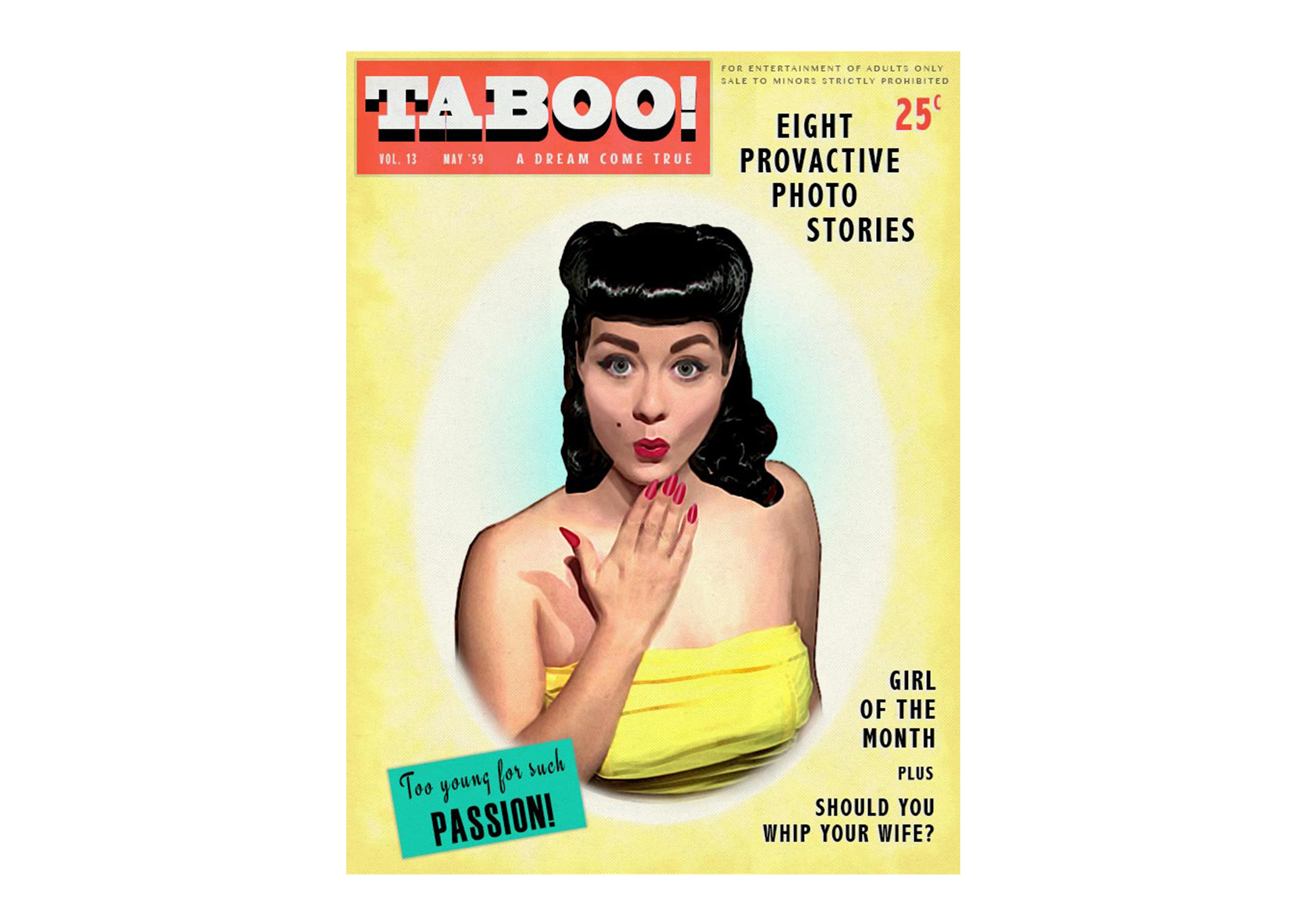 Magazine Prop Design