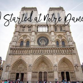I Started at Notre Dame