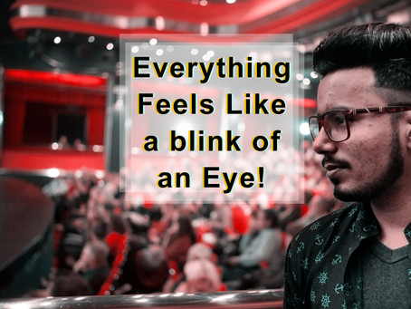 Everything Feels Like a blink of an Eye! - A Moment With Sonu Jatav.
