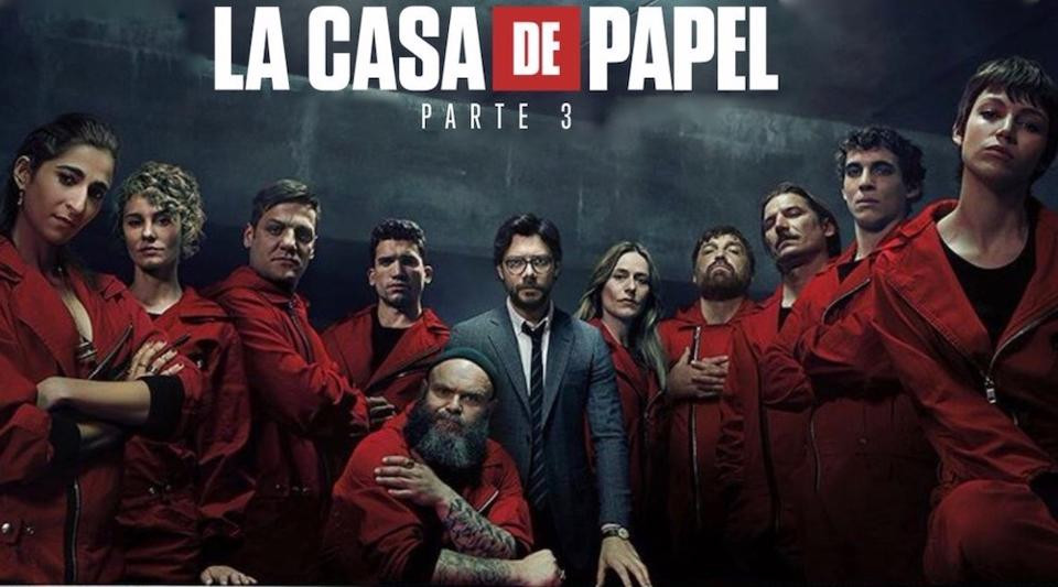Money Heist Netflix series