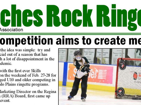 Coaches Rock Ringette - Skills Competition Aims To Create Memories