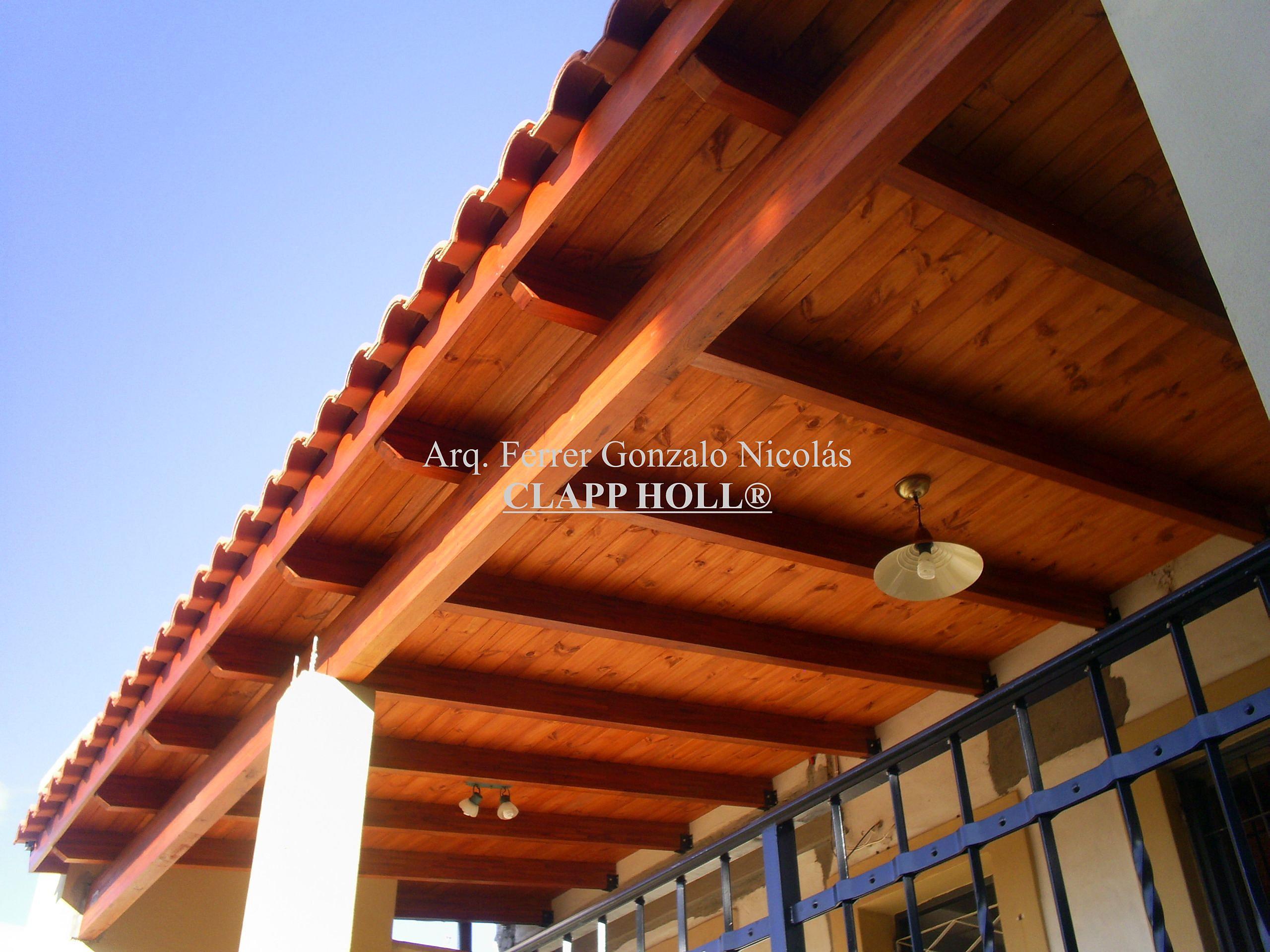 Precios de techos de madera cmo disear entrepisos y - Techos de madera precios ...