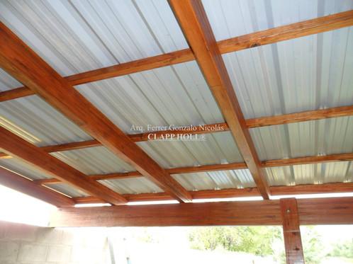Techo madera techo madera luces led integradas diseos de madera del techo estilo chino de - Estructuras de madera para techos ...