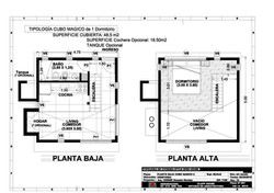 CUBO MÁGICO 48,5m2 1 Dorm.