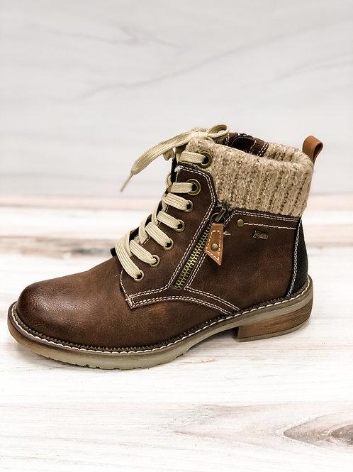 Brown Spring Step Khazera Boots
