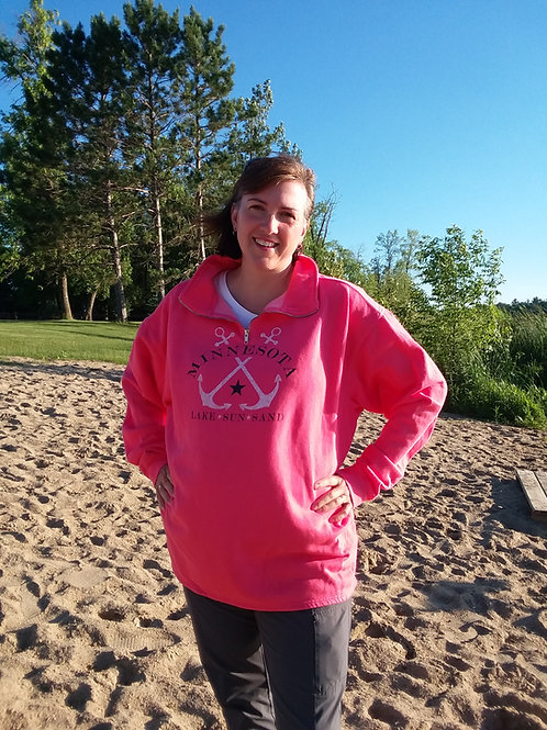 """Minnesota: Lake, Sun, Sand"" Sweatshirt"