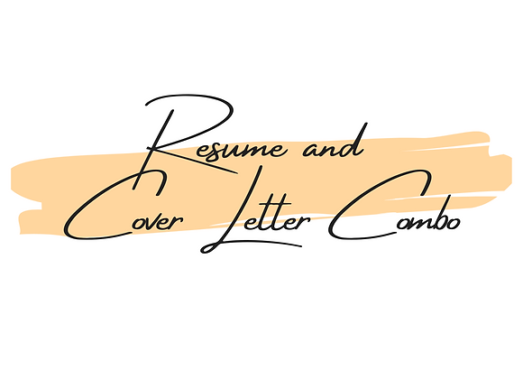 Resume & Cover Letter Combo