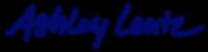AshleyLentz_HandwrittenLogo_Navy2019.png