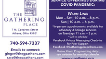 Check out The Gathering Place's Services Being Offered