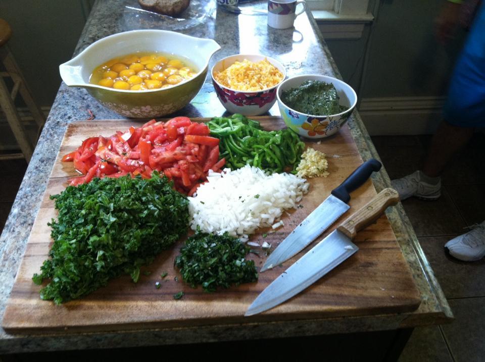 Weekly meal preparation