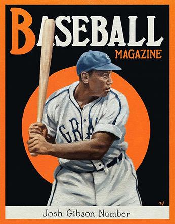 Josh Gibson, Homestead Grays, Negro Leagues, Baseball Magazine