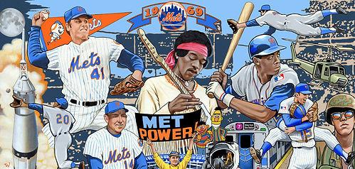 1969 Mets, Tom Seaver, Gil Hodges, Donn Clendenon, Met Power, Jimi Hendrix, Apollo 11