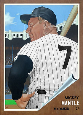 Mickey Mantle, 1962 Topps
