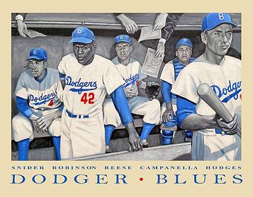 Dodger Blues Jackie Robinson