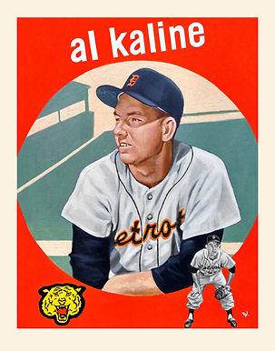 Al Kaline, Detroit Tigers, 1959 Topps