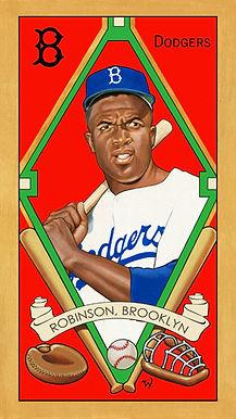 Jackie Robinson, T 205 Card
