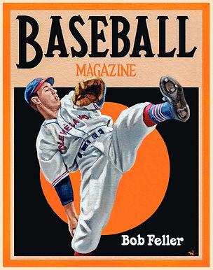 Bob Feller, Baseball Magazine