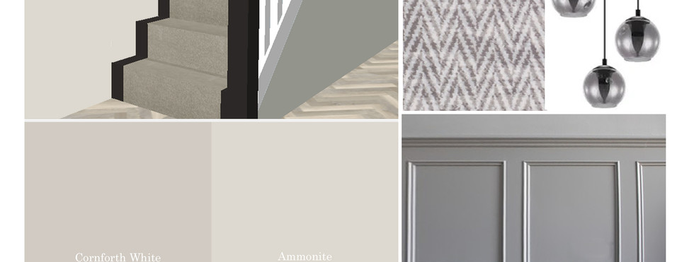 Stairs and Landing Mood Board