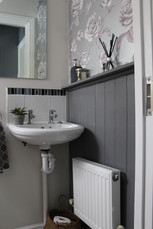 Cloakroom staging design