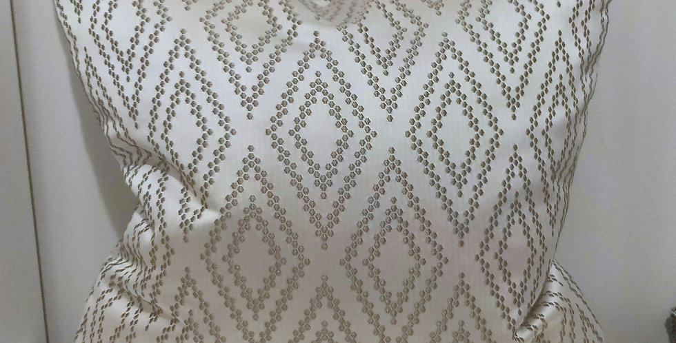 45x45 Driftwood Geometric Cushion Cover