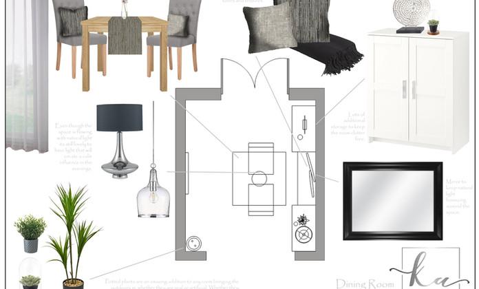 Dining Room Floor Plan