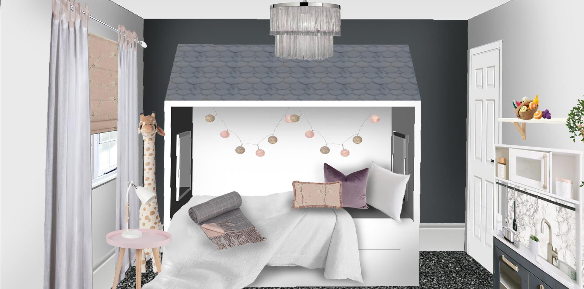 Kids Bedroom Visual
