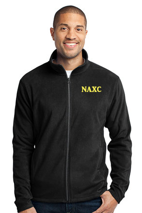 NAXC-Men's Full Zip Fleece Jacket